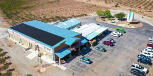 A Blue Building that got new Mexico Commercial Solar