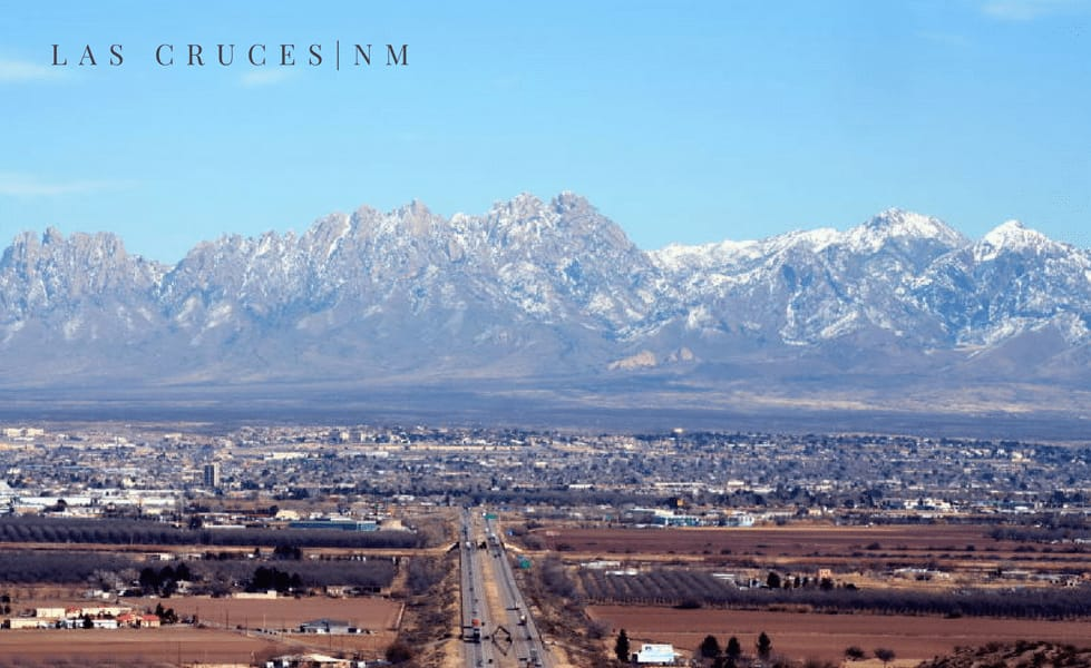 Las Cruces mountains where you can get affordable solar in New Mexico