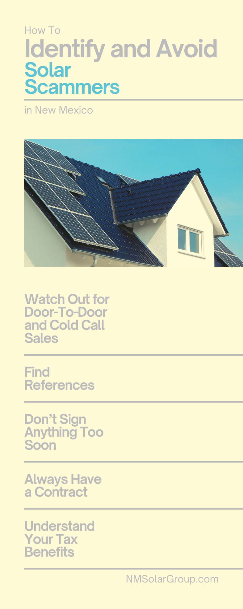 How To Identify and Avoid Solar Scammers in New Mexico